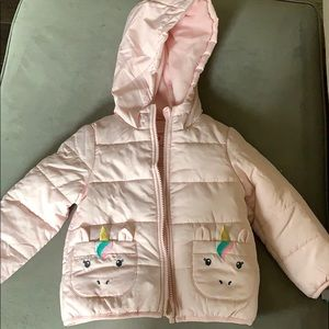Carter's pink jacket NWT